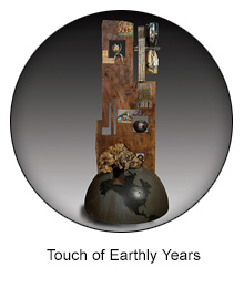 touch of earthly years